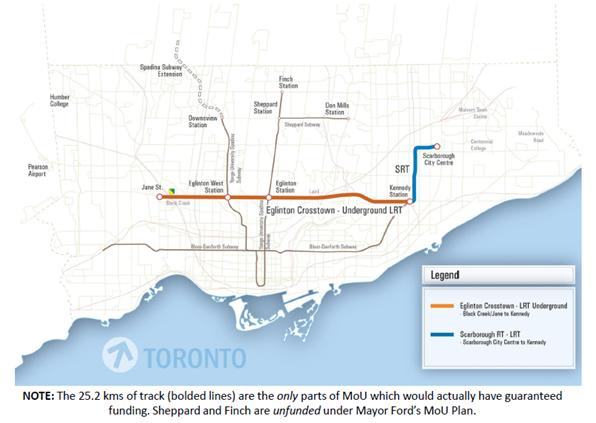 Mayor Ford Transit Map