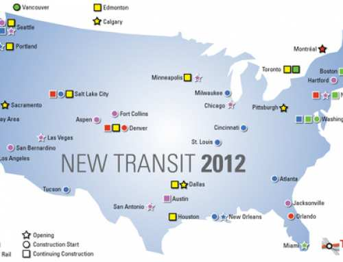 A mix of new rapid transit lines being built across North America