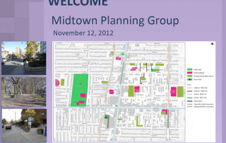 Midtown Planning Group presentation by Toronto City Planning, November 12, 2012